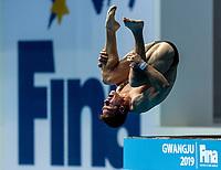 RIENDEAU Vincent CAN CANADA<br /> Gwangju South Korea 20/07/2019<br /> Diving Men's 10m Platform Final<br /> 18th FINA World Aquatics Championships<br /> Nambu University Aquatics Center <br /> Photo © Andrea Staccioli / Deepbluemedia / Insidefoto