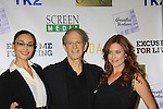 "One Life To Live Melissa Archer and As The World Turns Ewa Da Cruz star in the film, pose with Ric Klass (written, directed and produced by Ric) and are at the premiere of ""Excuse Me For Living"" on October 12, 2012 at AMC Loews Village 7, New York City, New York.  (Photo by Sue Coflin/Max Photos)"