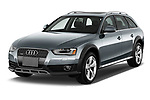 2013-2016 Audi A4 Allroad Premium Quattro 4 Door Wagon angular front stock photos of front three quarter view