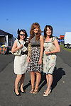 Lorna stone, Lisa Gorman and Bernadette Gorman at the Bellewstown Races 2011...(Photo credit should read Jenny Matthews www.newsfile.ie)....This Picture has been sent you under the conditions enclosed by:.Newsfile Ltd..The Studio,.Millmount Abbey,.Drogheda,.Co Meath..Ireland..Tel: +353(0)41-9871240.Fax: +353(0)41-9871260.GSM: +353(0)86-2500958.email: pictures@newsfile.ie.www.newsfile.ie.