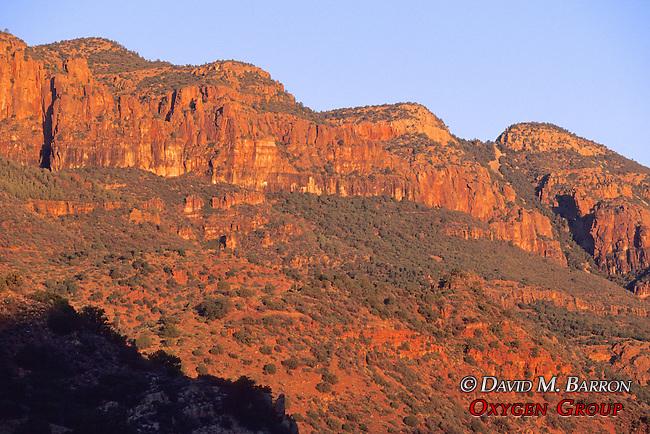 Mustang Ridge, Apache Reservation