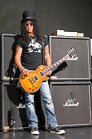 SLASH: Guitarist of  ;Guns N Roses and Velvet Revolver;<br /> Los Angeles, <br /> Photo Credit: Eddie Malluk