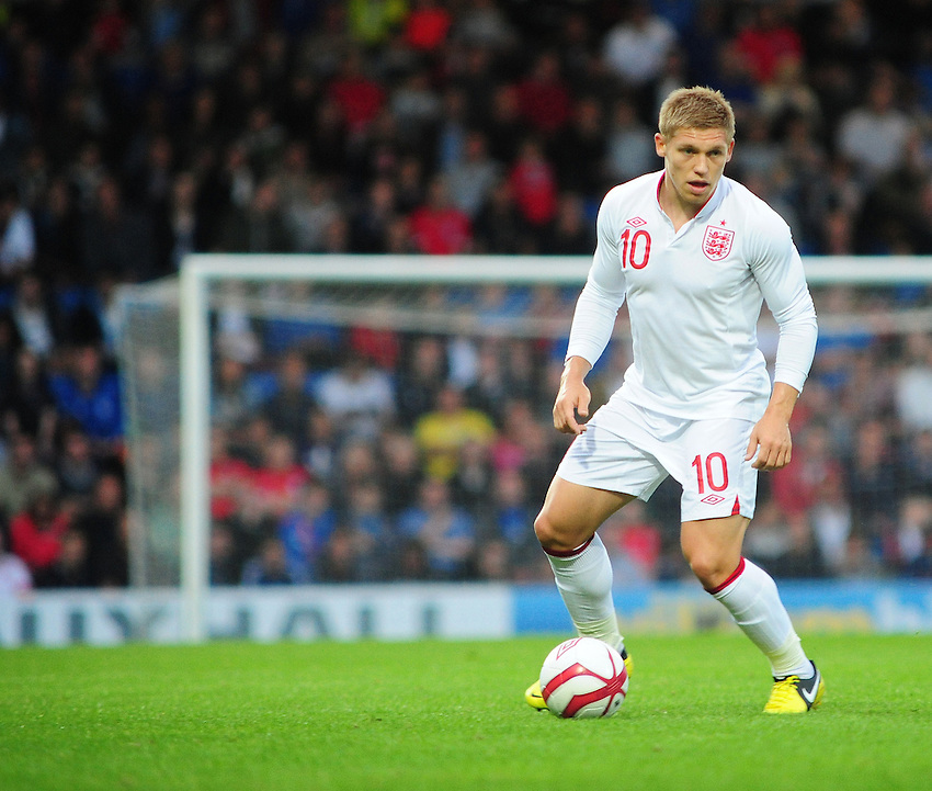 England's Martyn Waghorn ..International Football - European U-21 Championship Group Eight - England U21 v Norway U21 - Monday 10th September 2012 - Proact Stadium - Chesterfield..