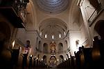 Interior of St Nicholas Cathedral Church, Alicante, Spain