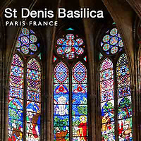 Photos of Saint Denis Basilica, Paris France