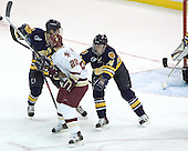 Merrimack ?, Dan Bertram, Scott Drewicki - Boston College defeated Merrimack College 3-0 with Tim Filangieri's first two collegiate goals on November 26, 2005 at Kelley Rink/Conte Forum in Chestnut Hill, MA.