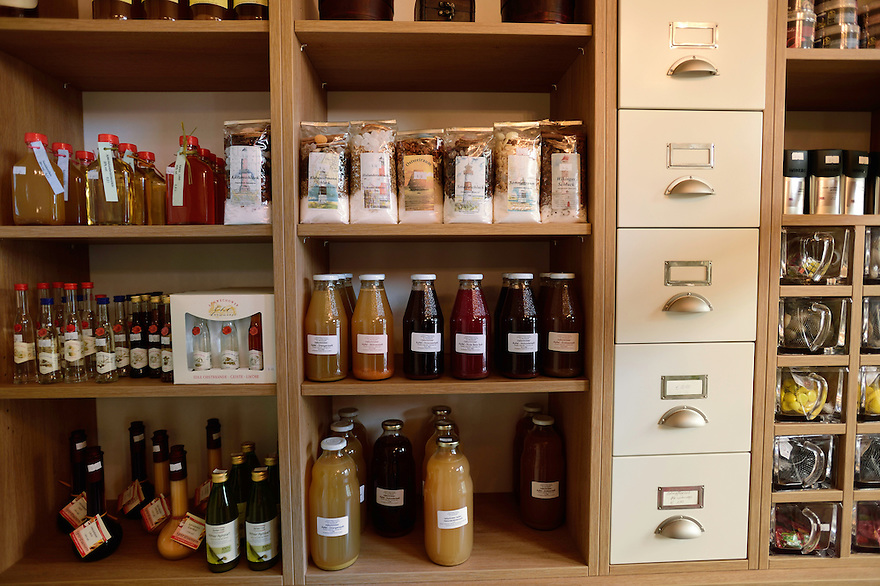 "Local food store - Hotel & Restaurant ""Am Peenetal"" in Liepen, Germany"