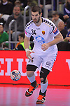 VELUX EHF 2017/18 EHF Men's Champions League Group Phase - Round 11.<br /> FC Barcelona Lassa vs HC Vardar: 29-28.<br /> Vuko Borozan.