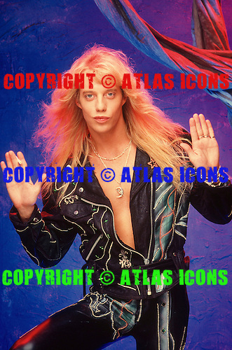 JANI LANE WARRANT 1990 WH Photo Credit: WILLIAM HAMES/ATLASICONS COM