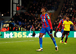 Crystal Palace's Wilfred Zaha looks on dejected after a missed chance during the premier league match at Selhurst Park Stadium, London. Picture date 12th December 2017. Picture credit should read: David Klein/Sportimage