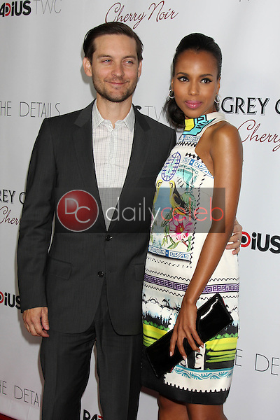 Tobey Maguire, Kerri Washington<br />