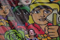 SÃO BERNARDO DO CAMPO, SP, 14.10.2015- CONGRESSO-DILMA - A presidente da República, Dilma Rousseff discursa durante o Congresso Nacional do MPA (Movimento dos Pequenos Agricultores) que acontece no Pavilhão Vera Cruz em São Bernardo do Campo na tarde desta quarta-feira, 14. (Foto: Renato Mendes / Brazil Photo Press)