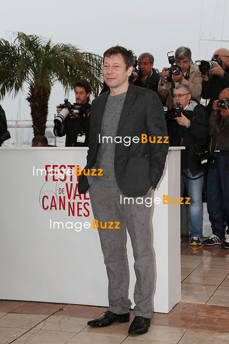 CPE/Actor Mathieu Amalric attends the 'Jimmy P. (Psychotherapy Of A Plains Indian)' Photocall during the 66th Annual Cannes Film Festival at the Palais des Festivals on May 18, 2013 in Cannes, France.