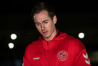 Fleetwood Town's Josh Morris pictured before the match<br /> <br /> Photographer Andrew Kearns/CameraSport<br /> <br /> The EFL Sky Bet League One - Wycombe Wanderers v Fleetwood Town - Tuesday 11th February 2020 - Adams Park - Wycombe<br /> <br /> World Copyright © 2020 CameraSport. All rights reserved. 43 Linden Ave. Countesthorpe. Leicester. England. LE8 5PG - Tel: +44 (0) 116 277 4147 - admin@camerasport.com - www.camerasport.com