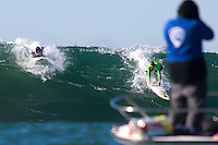 Half Moon Bay - Ca, Sunday, January 20, 2013: Zach Wormhoudt competes during the 2013 Mavericks Invitational..
