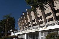 Belo Horizonte _ MG, 22 de Agosto de 2008..Imagens da regiao da Pampulha, em Belo Horizonte, para montagem de material promocional da empresa Rossi...Na foto: Estadio de futebol Governador Magalhaes Pinto (Mineirao)....Foto: BRUNO MAGALHAES / AGENCIA NITRO