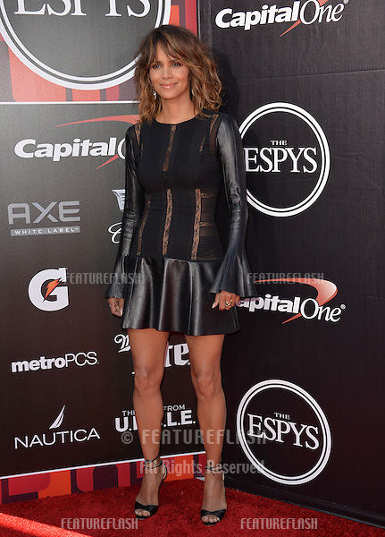 Halle Berry at the 2015 ESPY Awards at the Microsoft Theatre LA Live.<br /> July 15, 2015  Los Angeles, CA<br /> Picture: Paul Smith / Featureflash