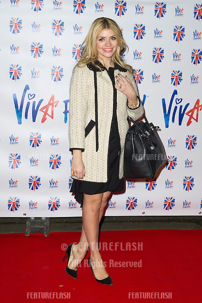 Holly Willoughby at the Viva Forever Press Night, London. 11/12/2012 Picture by: Simon Burchell / Featureflash