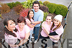 HUGS: Offering free hugs at IT Tralee last week as part of the ITT Mental Health Week were l-r: Lauren O'Connor (Tralee), Ciara Enright (Tralee), Katie Sheehy (Students Union), Jono Clifford (Students Union), Tanya Joy (Killorglin), Grace Healy (Tralee).   Copyright Kerry's Eye 2008