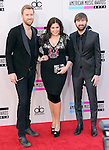 LOS ANGELES, CA - NOVEMBER 24: Lady Antebellum  arrives at   The 2013 American Music Awards held at Nokia Live in Los Angeles, California on November 24,2013                                                                               © 2013 Hollywood Press Agency