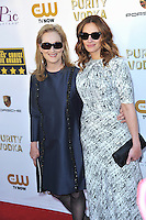 Meryl Streep &amp; Julia Roberts at the 19th Annual Critics' Choice Awards at The Barker Hangar, Santa Monica Airport.<br /> January 16, 2014  Santa Monica, CA<br /> Picture: Paul Smith / Featureflash