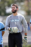 28 August 2016: San Diego's Thomas Olsen. The Elon University Phoenix played the University of San Diego Toreros at Koskinen Stadium in Durham, North Carolina in a 2016 NCAA Division I Men's Soccer match. USD won the game 2-1.
