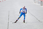 HOLMENKOLLEN, OSLO, NORWAY - March 17: Marte Monrad-Hansen of Norway (NOR) finishes at the Ladies 30 km mass start race, free technique, at the FIS Cross Country World Cup on March 17, 2013 in Oslo, Norway. (Photo by Dirk Markgraf)