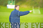 South Kerry's Jack O'Connor issues instructions to his charges  during their Corn Ui Mhuiri first round clash against Colaiste Chriost Ri in Direen, Killarney on Wednesday.   Copyright Kerry's Eye 2008