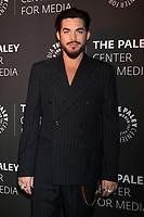 "LOS ANGELES - OCT 25:  Adam Lambert at ""The Paley Honors: A Gala Tribute to Music on Television"" at the Beverly Wilshire Hotel on October 25, 2018 in Beverly Hills, CA"