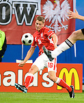 Lukasz Piszczek at Euro 2008. Germany-Poland in Klagenfurt (Austria) 06082008.