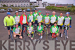 Gearing Up For The Iveragh 200 are some of the Members from the Killorglin/Cahersiveen Cycling Club pictured here before a training cycle are front l-r; Brendan O'Shea, Aine O'Connell, Eimear Murphy, Kitty Mangan, back l-r; Denis Everett, John O'Neill, John Dowd, Eion Ryan, Brendan Mangan, Sean 'The Post' O'Shea, Padraig Brennan, John O'Shea, Patrick Donnelly & Jamie O'Shea..