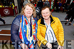 Theresa Tracey (Killarney) and Aine Lennihan (Ardfert) enjoying the CH Chemist's Santa Parade on Saturday.