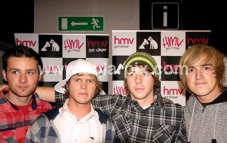 **ALL ROUND PICTURES FROM SOLARPIX.COM**.**WORLDWIDE SYNDICATION RIGHTS**.PA by McFly at HMV record store in the Fort Shopping Park, Birmingham, UK. 17th July 2008..JOB REF: 6859 NYA     DATE: 17_07_2008.**MUST CREDIT SOLARPIX.COM OR DOUBLE FEE WILL BE CHARGED* *UNDER NO CIRCUMSTANCES IS THIS IMAGE TO BE REPRODUCED FOR ANY ONLINE EDITION WITHOUT PRIOR PERMISSION*