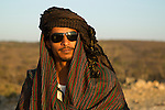 Man wearing keffiyeh, Dhofar Mountains, Oman