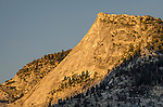Sunset light on Tenaya Peak, Yosemite National Park, California