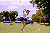 Hannah Green (AUS) during the Preview of the Australian PGA Championship at  RACV Royal Pines Resort, Gold Coast, Queensland, Australia. 18/12/2019.<br /> Picture TJ Caffrey / Golffile.ie<br /> <br /> All photo usage must carry mandatory copyright credit (© Golffile | TJ Caffrey)