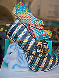 ENGLAND, Brighton, Funky Platform Shoes