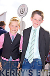 Tadhg O'Connor and Jamie O'Connor from Kilmorna, Listowel enjoying the Listowel Races on Sunday