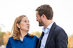 Ana Pastor and Pablo Casado in the presentation of the Partido Popular program<br />  October 13, 2019. <br /> (ALTERPHOTOS/David Jar)