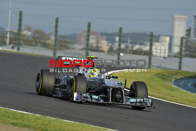 04. - 07.10.2012, Suzuka International Racing Course, Suzuka, JPN, F1, Grosser Preis von Japan, Suzuka, im Bild Nico Rosberg (GER), Mercedes GP <br />  Foto &copy; nph / Mathis