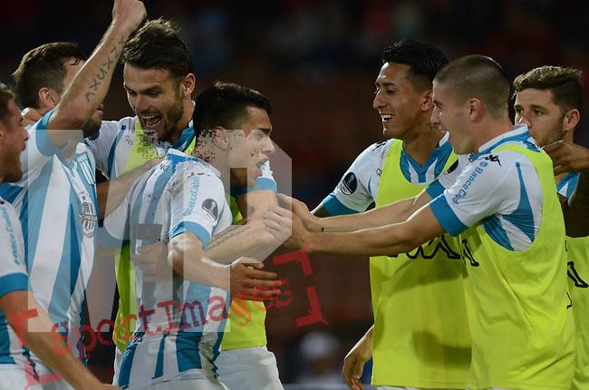 Racing venció como visitante 3-2 (6-3 en el global) a Independiente Medellín. Vuelta de los dieciseisavos de final de la Conmebol Sudamericana 2017.