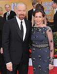 Bryan Cranston, Robin Dearden at 19th Annual Screen Actors Guild Awards® at the Shrine Auditorium in Los Angeles, California on January 27,2013                                                                   Copyright 2013 Hollywood Press Agency