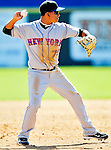 6 March 2010: New York Mets' infielder Ruben Tejada in action during a Spring Training game against the Washington Nationals at Space Coast Stadium in Viera, Florida. The Mets defeated the Nationals 14-6 in Grapefruit League action. Mandatory Credit: Ed Wolfstein Photo