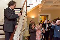 Berkeley Divinity School at Yale Conferral of Diplomas and Certificates and the Awarding of Prizes May 20, 2017. Reception at the Berkeley Center.