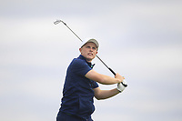 Conor Purcell of Team Ireland on the 3rd tee during Round 3 of the WATC 2018 - Eisenhower Trophy at Carton House, Maynooth, Co. Kildare on Friday 7th September 2018.<br /> Picture:  Thos Caffrey / www.golffile.ie<br /> <br /> All photo usage must carry mandatory copyright credit (© Golffile   Thos Caffrey)