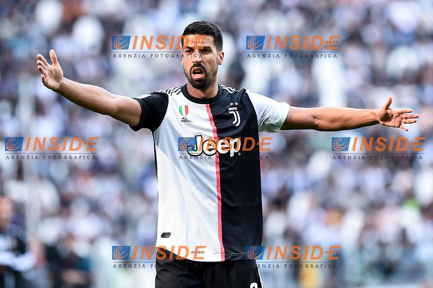 Sami Khedira of Juventus <br /> Torino 28/09/2019 Allianz Stadium <br /> Football Serie A 2019/2020 <br /> Juventus FC - SPAL <br /> Photo Image Sport / Insidefoto