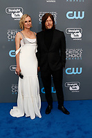 Diane Kruger and Norman Reedus attend the 23rd Annual Critics' Choice Awards at Barker Hangar in Santa Monica, Los Angeles, USA, on 11 January 2018. Photo: Hubert Boesl - NO WIRE SERVICE - Photo: Hubert Boesl/dpa /MediaPunch ***FOR USA ONLY***