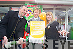 Celebrating selling a ?500,000 Lotto Winner are Collette and Louis Byrne and Debbie O'Halloran, of Byrne's Spar, Oakpark, Tralee.