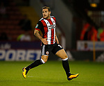 Billy Sharp of Sheffield Utd during the Carabao Cup, second round match at Bramall Lane, Sheffield. Picture date 22nd August 2017. Picture credit should read: Simon Bellis/Sportimage