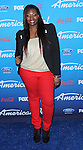 Candice Glover at the American Idol Finalists Party 2013 at the Grove in Los Angeles, CA. March 7, 2013.